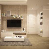 狭い部屋でも北欧シンプルにコンパクトなテレビ台