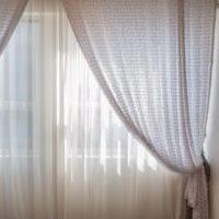 光を通すカーテン リネン 麻素材でナチュラルに