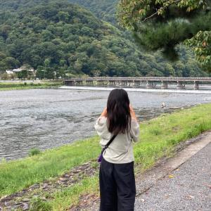 娘と京都へお出掛け♡