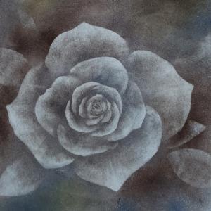 今日のパステル 薔薇を試作してみた