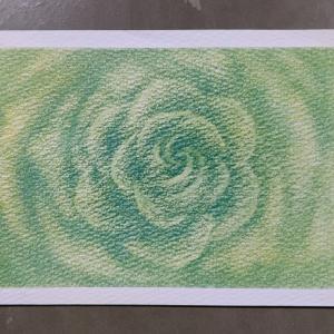 はじめてのパステルヒーリングアート 実際描いた薔薇