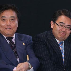 愛知トリエンナーレ 河村市長と大村知事