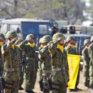 陸上自衛隊姫路駐屯地68周年記念行事の様子