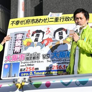 大阪都構想の賛否は五分五分