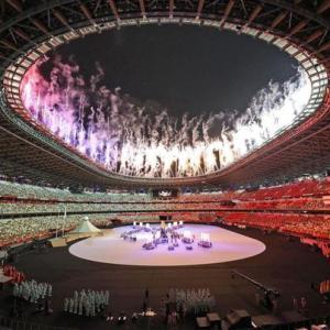 日本が消えているオリンピック開会式