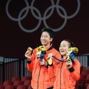 水谷選手『日本の国旗が一番にあがり・・・誇りに思った』と感想を述べる。