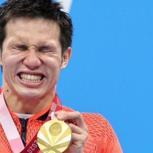 木村選手の「君が代」涙にもらい泣き
