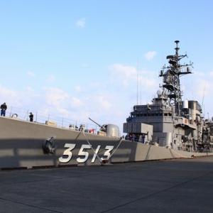 海上自衛隊練習艦「しまゆき」が姫路に寄港