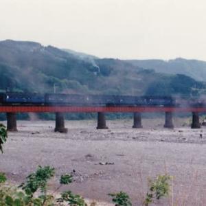 古いアルバムから見つけた大井川鉄道の写真 その1