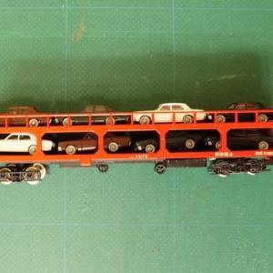 KATOの8078-7D ク5000トリコ 台車を使ってク5000を弄る