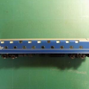 【1/80】TOMIXの14系15形特急寝台客車「富士/はやぶさ」を弄る その7