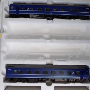 【1/80】TOMIXの14系15形特急寝台客車「富士/はやぶさ」を弄る その8