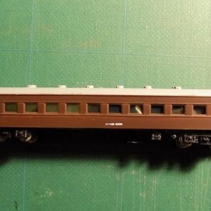 KATOのAssyパーツを使ってGREENMAXの古い客車を弄る その5