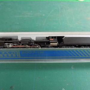 KATOの2007-1 C57山口号タイプのヘッドライトをLED化してみる
