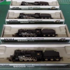 MICROACEの蒸気機関車のライトをLED化する。その7