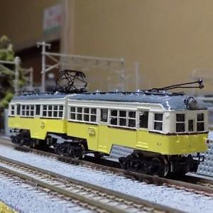 宮沢模型の京阪電鉄60形「びわこ」号を見る。