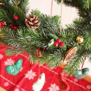 イチゴちゃんと大和くんのお陰で クリスマス仕様のフライングリース完成★