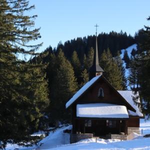 スイス的 雪山散歩 @Mythen♪