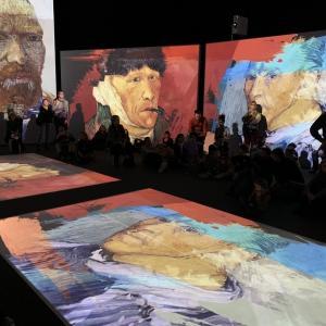 スイス的 Van Gogh Alive @Zürich