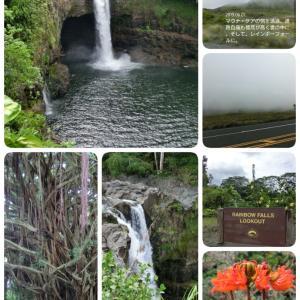 ハワイ島⑧ 6/1 レインボーフォールズとカメハメハ大王像