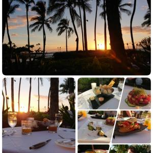 ハワイ島⑭ 6/2 ブラウンズビーチハウスでディナー