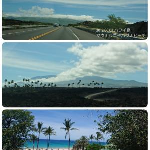 ハワイ島4日目⑮快晴!ハプナビーチ!