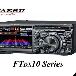 <不具合の修正など4項目>八重洲無線、FTDX10シリーズの新ファームウェアを公開