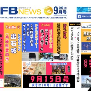 超簡単なHFポータブルアンテナ--「月刊FBニュース」、9本の連載とニュース2本をきょう公開