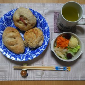 手作り3種パン☆朝ごはん☆