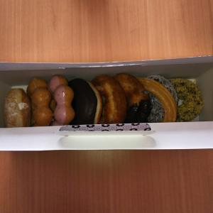 ミスタードーナツの差し入れ( ^-^)ノ∠※。.:*:・'°☆
