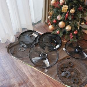 扇風機の収納には、汎用性のあるアレがカバーにピッタリ!