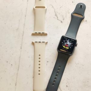 Apple Watchのベルトを変えました♬ &楽天ポチレポ・ポチ予定