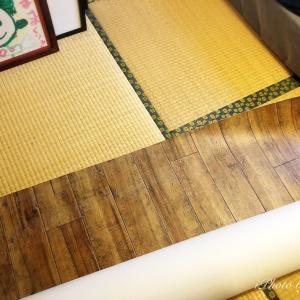 【寝室】クッションフロアを剥がして和室に戻しました