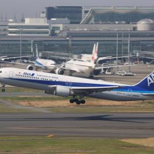 羽田空港(2020.4.4)