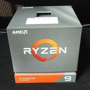 やっと Ryzen9 3900X を買えました