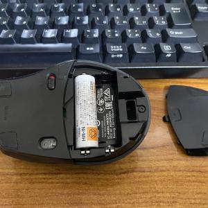 ロジクールマウス M705m を軽量化