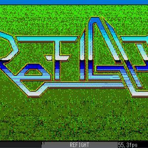 PC-8801 シューティング 同人ソフト