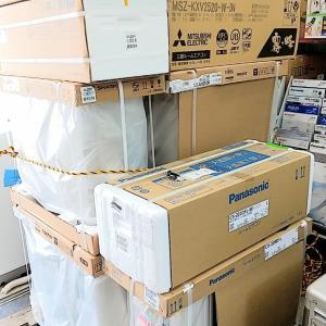 【エアコン工事ご予約状況】当店ご購入エアコン工事予定と他店購入・中古エアコン工事9月予定