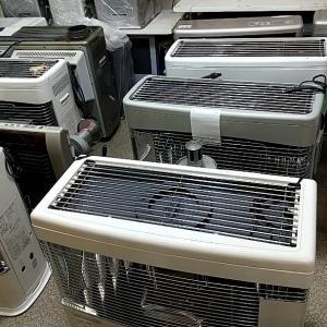 【今日のお仕事】ハウスクリーニング(窓・サッシ清掃)・ストーブ・エアコン工事