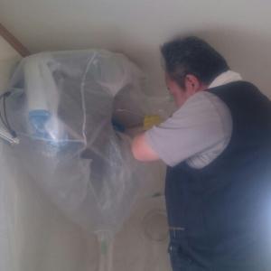 【エアコンクリーニング】賃貸物件のエアコン管理はしっかりと!経費節約よりクレーム対策しましょう。