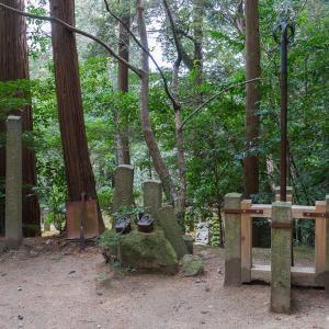 元山上と鳴川街道(生駒山)
