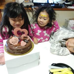 娘 8歳のお誕生日