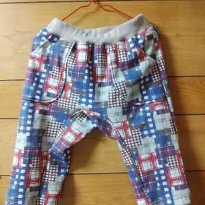 【息子服】Playパンツ 130 生地の名は…?