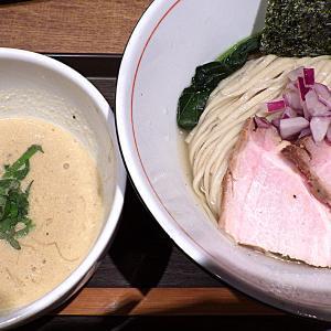 麺と心 7 あん肝白湯と秋刀魚節のつけ麺