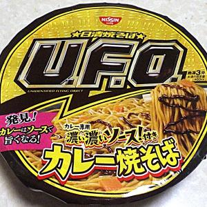2/24発売 日清焼そば U.F.O. カレー専用濃い濃いソース付きカレー焼そば