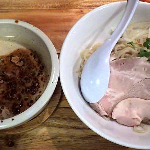 一帆 THEORY・OF・鶏煮干のつけ麺&鶏から揚げ3個と小ごはん