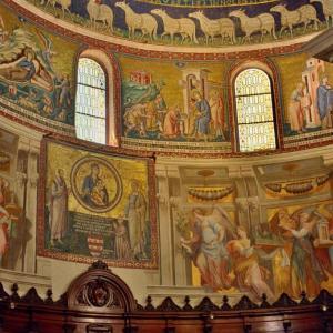 サタ・マリア・イン・トラステヴェレ聖堂…ローマ