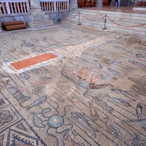アクイレイア大聖堂のモザイク