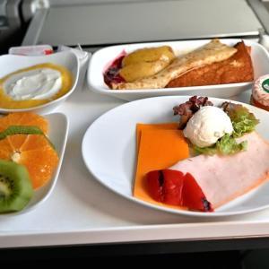 リスボン~フランクフルト~羽田の機内食