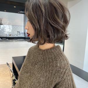 週末、髪を切りました!